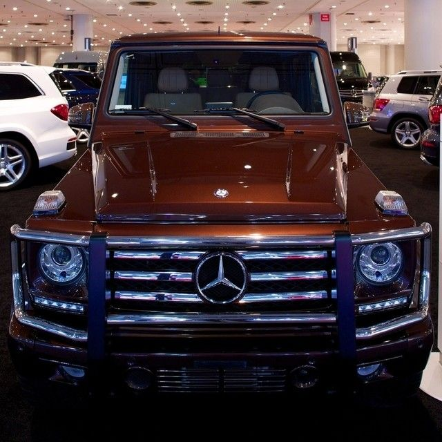 Who's heading to #NYIAS this weekend? Make sure to stop by the Mercedes-Benz booth to see all the goodies we brought, like the G-Class.   #mercedes #benz #instacar #GClass @Pia G Wagen #germancars