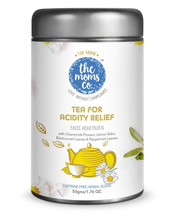 Best Pregnancy Herbal & Organic Tea Online - Themomsco.com  The moms co offers best pregnancy herbal tea online & considered as beneficial for a pregnancy women complaining for acidity. This herbal tea consist of  Caffeine-Free Herbal Blend of Chamomile Flowers, Lemon Balm,