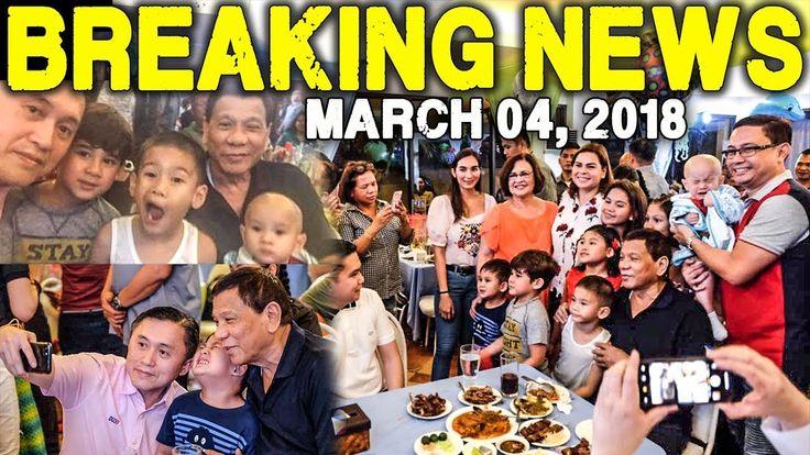 BREAKING NEWS TODAY MARCH 04 2018 PRESIDENT DUTERTE l LENI ROBREDO l DE ...