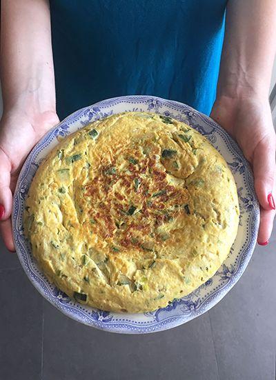 Tortilla de calabacín – elpucheretedemari
