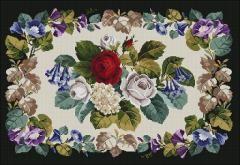 Antique Floral carpet
