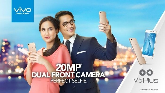 Vivo mengeluarkan smartphone Vivo V5Plus   PT Solid Gold Berjangka Cabang Lampung Tidak hanya mengandalkan dua kamera depan saja, di bagian punggung bodi V5Plus juga tersemat kamera beresolusi 16 megapiksel. Kamera belakang tersebut mampu menangkap momen dalam foto dan video yang jernih dan...