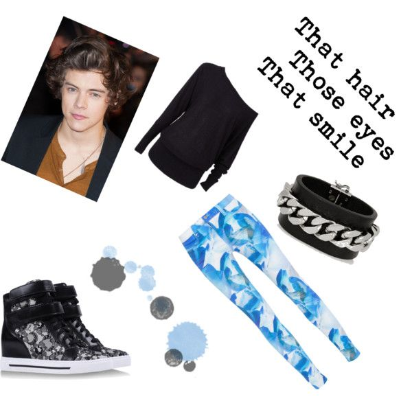 """Going casual with Harry Styles"" by tactica on Polyvore"