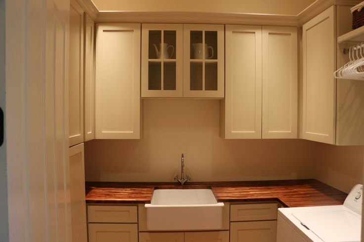 Laundry Room Butler S Pantry Ikea Farmhouse Sink