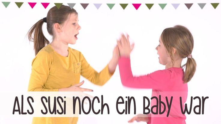Als Susi noch ein Baby war | Klatsch-Spiel Anleitung