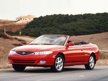 1999–2001 Toyota Camry Solara Convertible '1998–2001