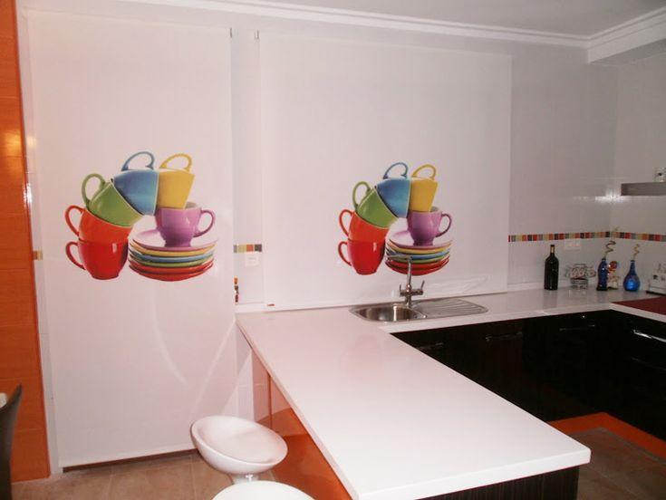 Estores Enrollables Cocina | 32 Mejores Imagenes De Foto Roletai En Pinterest Php Imagenes Y