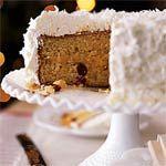 Lemon Coconut Cake with Whipped Cream Frosting Recipe | MyRecipes.com