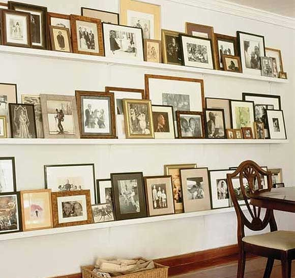 family history display - I love this so very much!  Unfortunately, I do not have photos of most all of my ancestors. :(