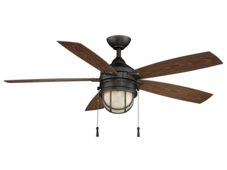 Design Ideas: Outside Ceiling Fan With Iron Surface And Blades. ceiling fan with light. five blades ceiling fan. wood look blades ceiling fan.