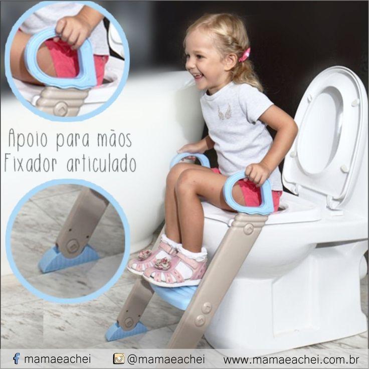 Leve e dobrável, o Assento Redutor Dican, vendido na loja @umpassarinhomecontouloja é perfeito para as crianças que estão em fase de transição da fralda para o vaso sanitário. Equipado com escada acoplada, o aprendizado fica ainda mais fácil e seguro.    COMPRE AGORA www.mamaeachei.com.br / PRODUTOS / LOJAS / UM PASSARINHO ME CONTOU.