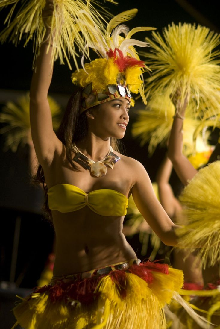 My new workout for the legs - Tahitian / Otea / Cook Island dancing.