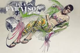 Las claves de su trabajo son su interés por la moda, el realismo botánico y el cuerpo humano. Un cuarto elemento fundamental es su atracción por el trabajo de la dupla de diseñadores franceses M/M Paris (www.mmparis.com),