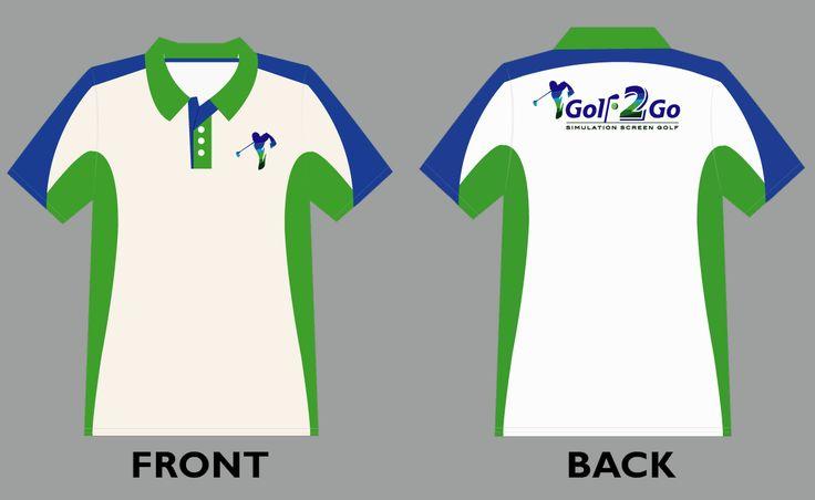 Polo shirt design template