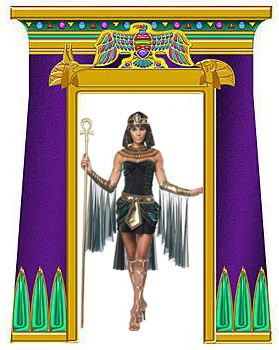 Halloween the secret of the mummy 39 s tomb halloween party for Ancient egyptian tomb decoration