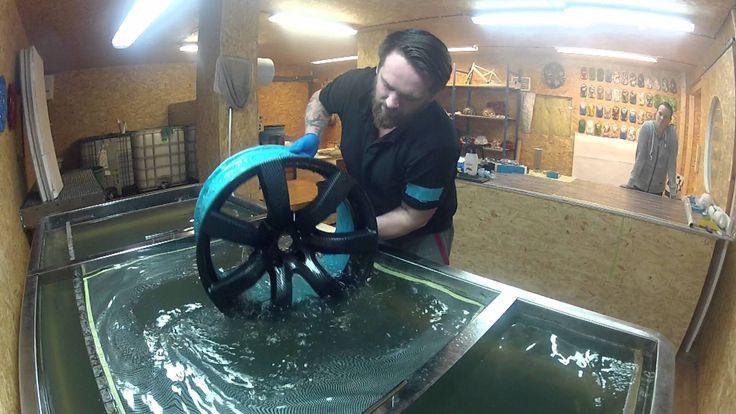 Hydrografika WTPart , Hydrographics (Water Transfer Printing)