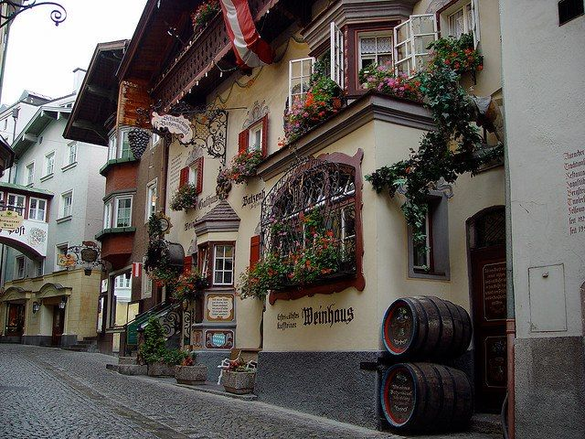 Kufstein, Tirol, Austria   located along the river Inn, in the lower Inn valley, near the border with Bavaria, Germany.