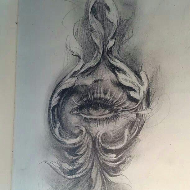 Sketch by Tattoo Artist Carlos Torres