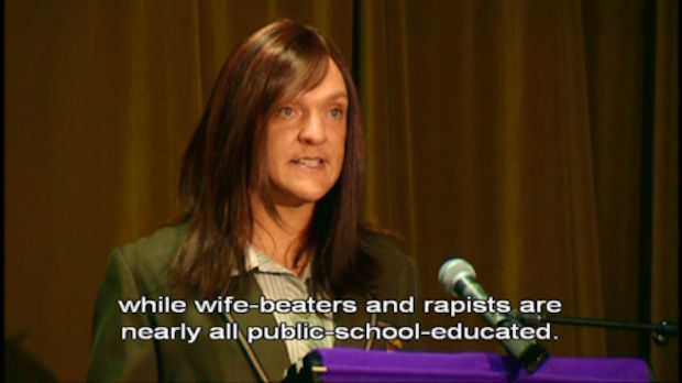 The time she enlightened us to the reality of public schools:   22 Times Ja'mie King Was The Most Real And Inspiring Person On Television
