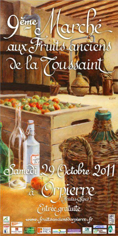 Orpierre 29 Octobre 2011 #orpierre #produitslocaux #baronnies