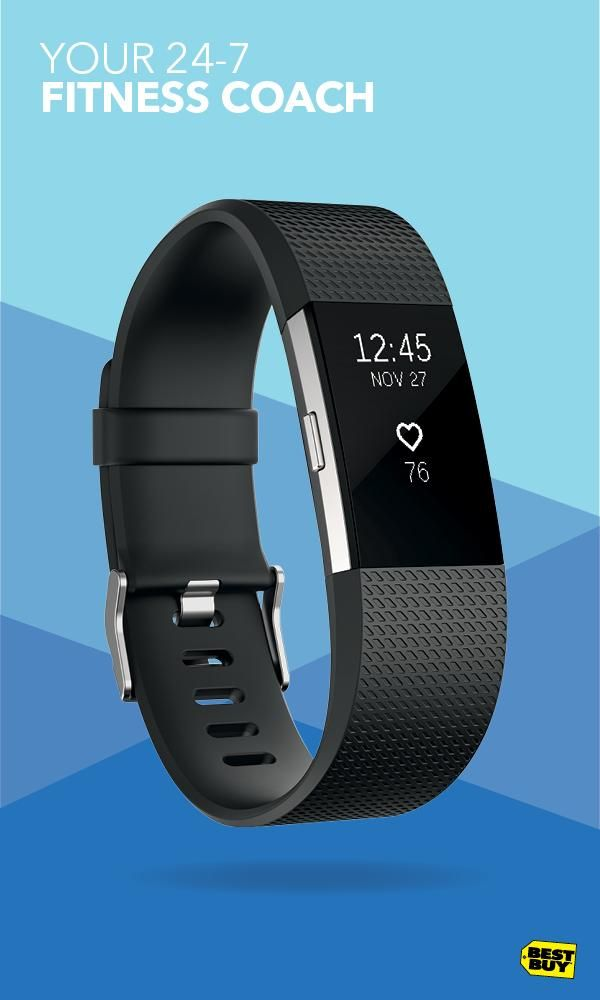 One of our top fitness trackers, the Fitbit Charge 2 tracks just about everything–distance, time, calories burned, steps, heart rate and more during just about any activity. When you're done with your workout, it can track your sleep quality to help you get the most from your Zs. Plus, it offers guided breathing sessions for your downtime, too. That's taking heart rate data to the next level. Make every workout in 2017 count. Get yours at Best Buy.