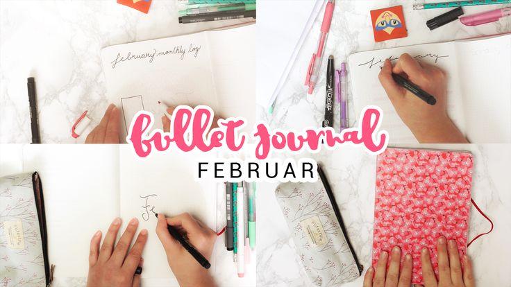 Rosa Bullet Journal Set Up für mehr Organisation!
