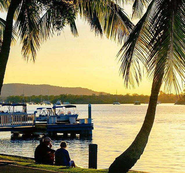 A sunset and golden reflections make for a sensational afternoon by the Noosa River! This magical spot is the perfect place to pack a picnic or grab some fish and chips and watch the sun go down.