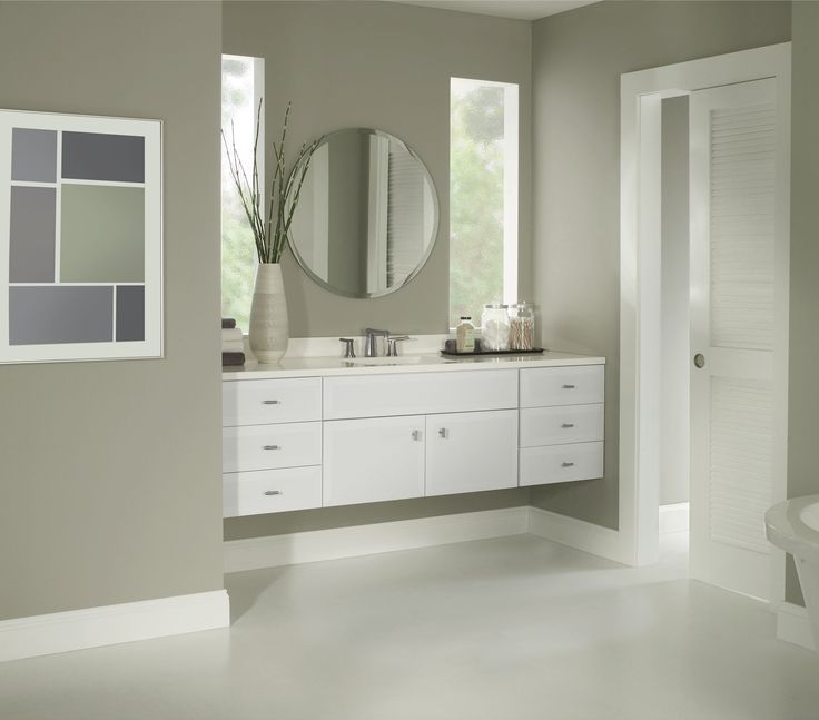 Prism White By Bertch Cabinet Manufacturing.