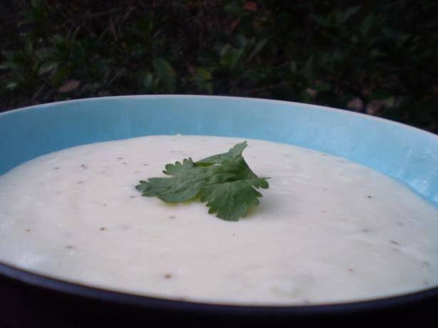 ✻ ✻ Creamy Potato Soup With Onion ✻ ✻ Recipe: http://www.food.com/recipe/creamy-potato-soup-with-onion-447150
