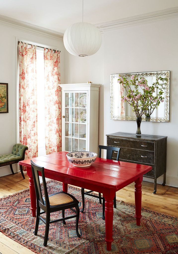 Best 25+ Red dining rooms ideas on Pinterest | Orange living room ...