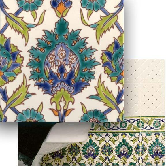 PALMYRE Iznik Ceramic Tile