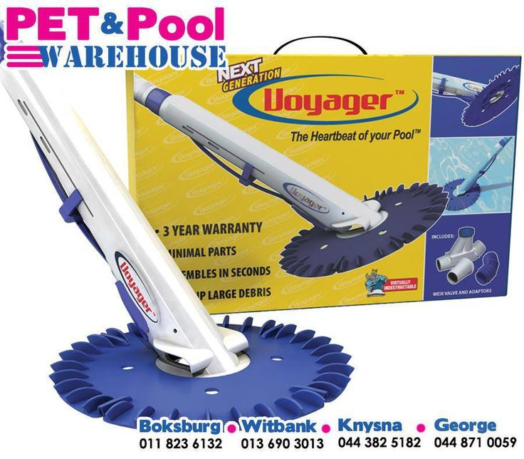 #Voyager Advanced Automatic In Ground Suction Side #Pool Cleaner Includes 30ft Sectional Hose & Adaptors Excellent Quality & Reliability and available from Pet Pool Warehouse.