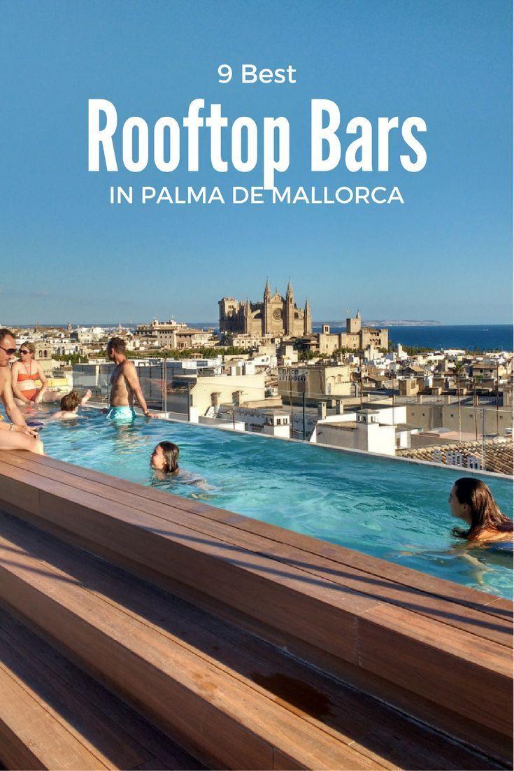 Best rooftop bars in Palma de Mallorca – #bars #de…