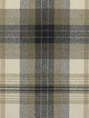 Ralph Lauren Fabric Duncanson Plaid-Stone $200.99 per yard #Interiors #Plaid #Decor