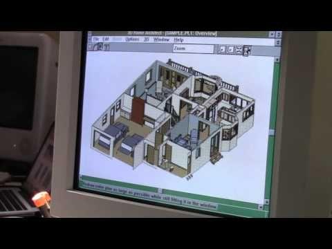 Broderbund 3D Home Architect for Windows 3 1