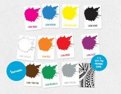 Samoan Colours Flash Cards