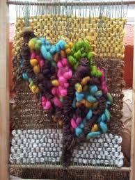 Resultado de imagen para telar enmarcados lana de oveja arbolitos