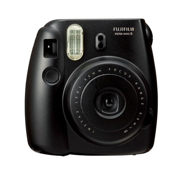 Fujifilm Instax 8S, a polaroid camera with a stylish design and control exposure adjustment. http://zocko.it/LDCvq