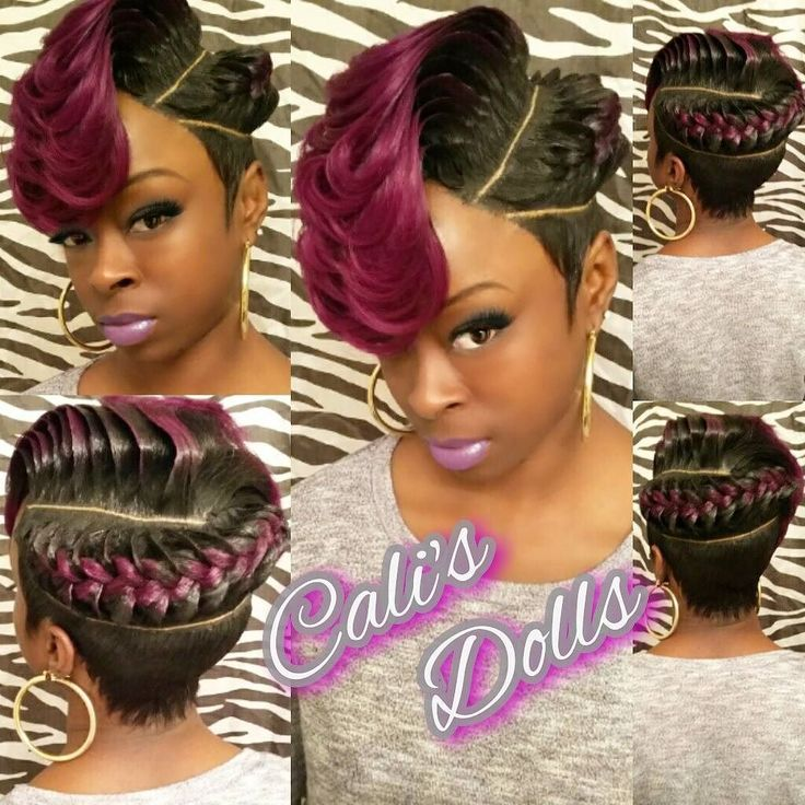 Absolutely No Hair Out This Quick Weave Is Installed On