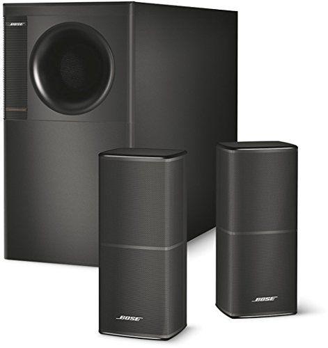 Bose® Acoustimass® 5 série V Système d'enceintes stéréo – Noir: Un système élégant, qui diffuse un son absolument remarquable Un son clair…