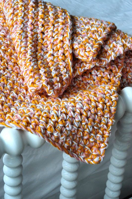 Speed Crochet Blanket