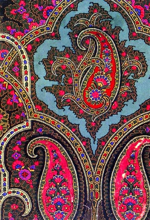 ~ George Haite, Victorial Textile Designer, I would love to have this as a Duvee…
