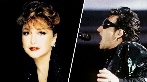 Angélica María y el romance con Bono