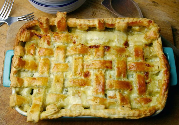 How to define this rustic masterpiece? Delightful if enjoyed hot, delicious if tasted cold. Complete! rustic #pie with #peas