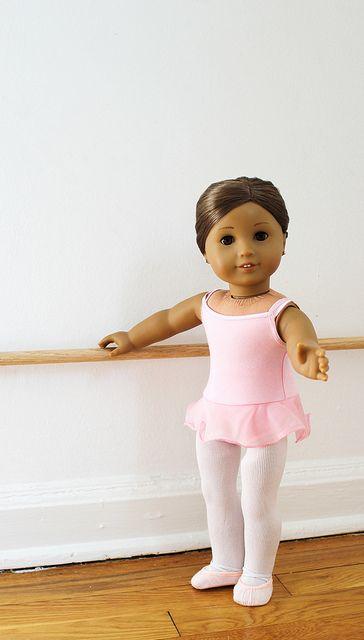Kanani at the barre Five by Colette Denali, via Flickr American Girl ballet