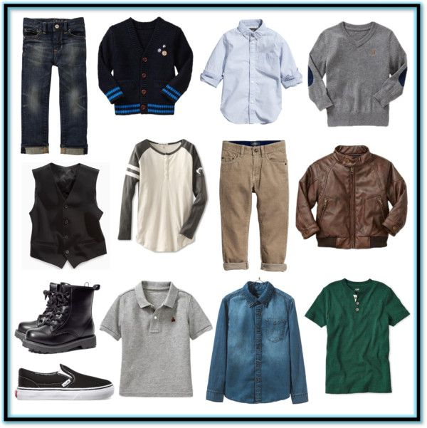 The Fashionable Boy's Fall Wardrobe Checklist (Complete with printable checklist)