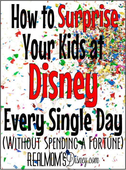 Although I think a trip to Disney World is treat enough ... there's no doubt it…