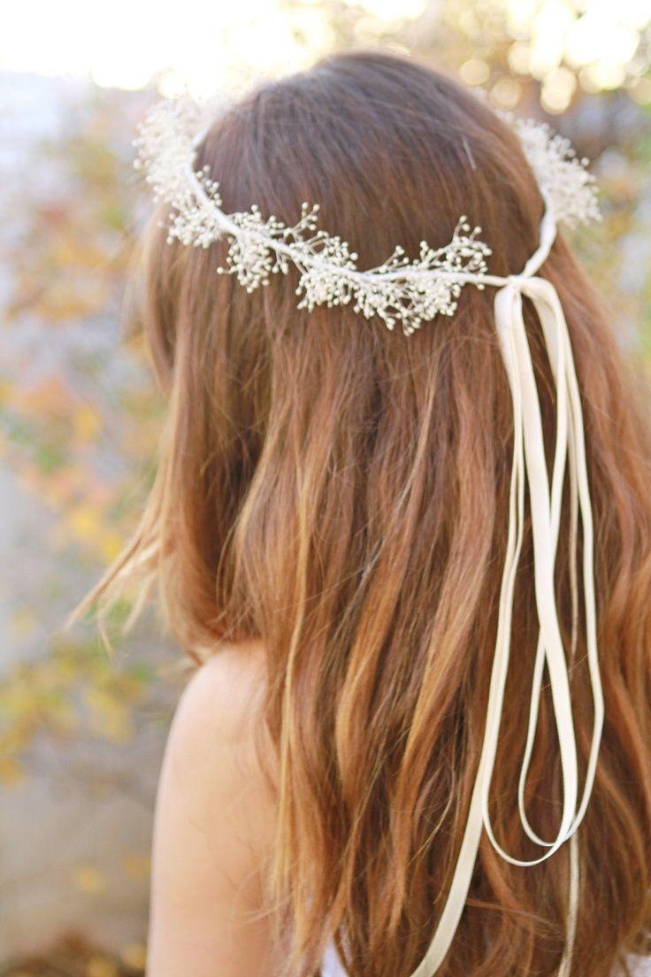 繊細で可愛い細めリボン♡♡ リボンを使った花嫁ヘア一覧。ウェディングの参考に。