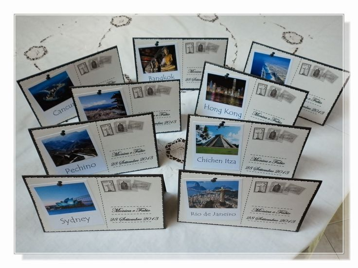 partecipazioni matrimonio tema viaggio - Cerca con Google