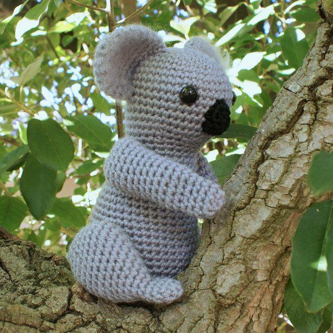 Koala amigurumi crochet pattern [MP025] : PlanetJune Shop, cute and realistic crochet patterns & more